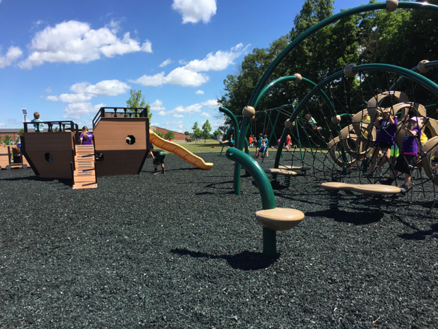 Playground in Grove City: Henceroth Park