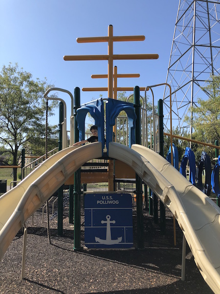 playground at Spring Grove Park North, Westerville