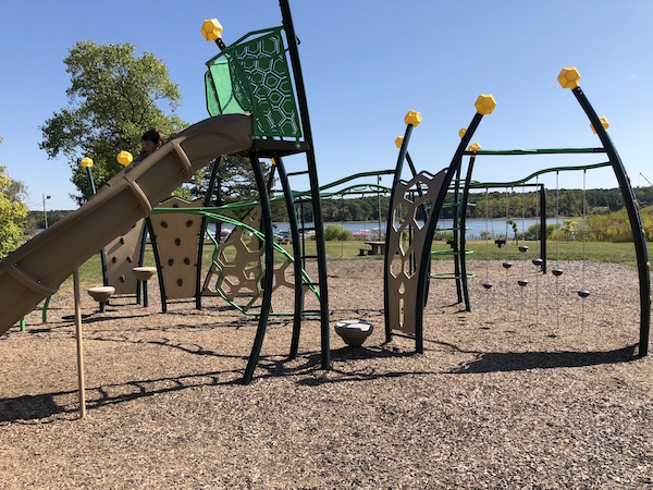 playground at Hoover Reservoir