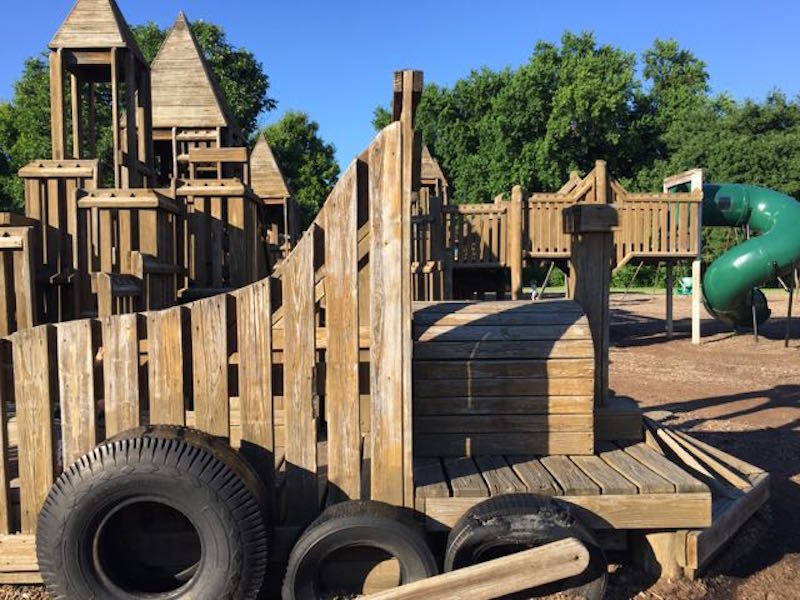 Castle Park - Wycliffe Playground - in Upper Arlington