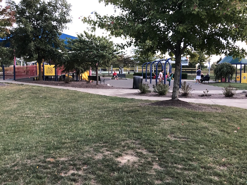 Darree Fields playground in Dublin, Ohio