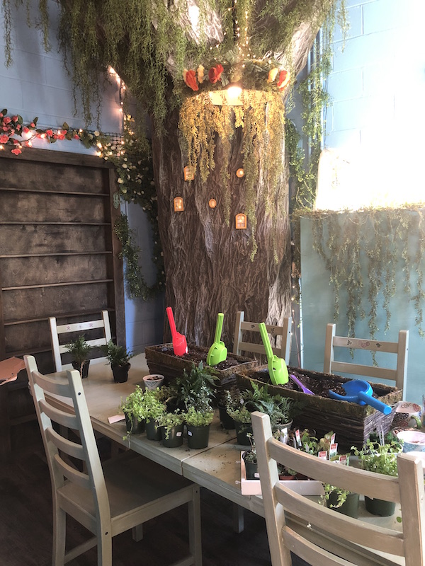 little fairy garden shop in Yellow Springs, Ohio