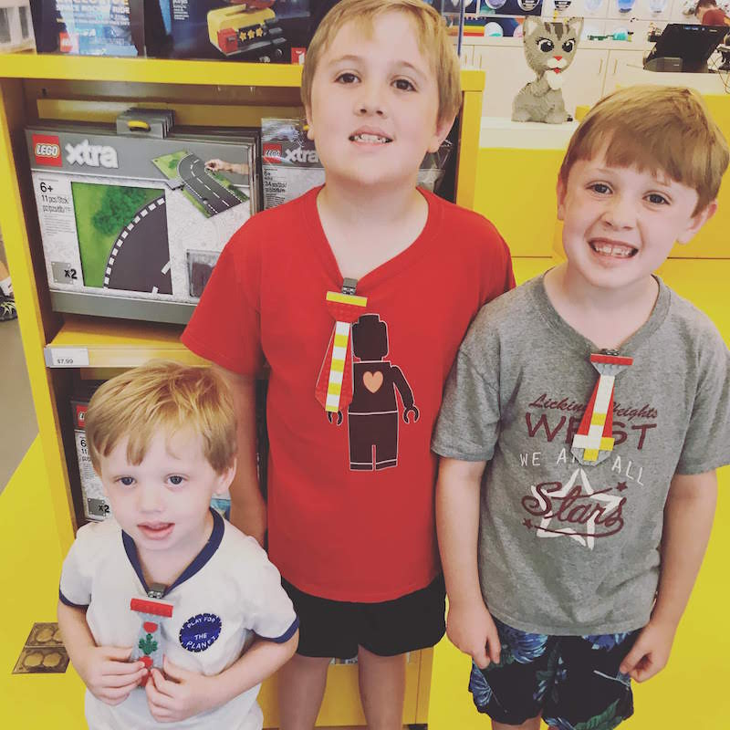 Boys at LEGO Store at Easton Town Center, Columbus, Ohio