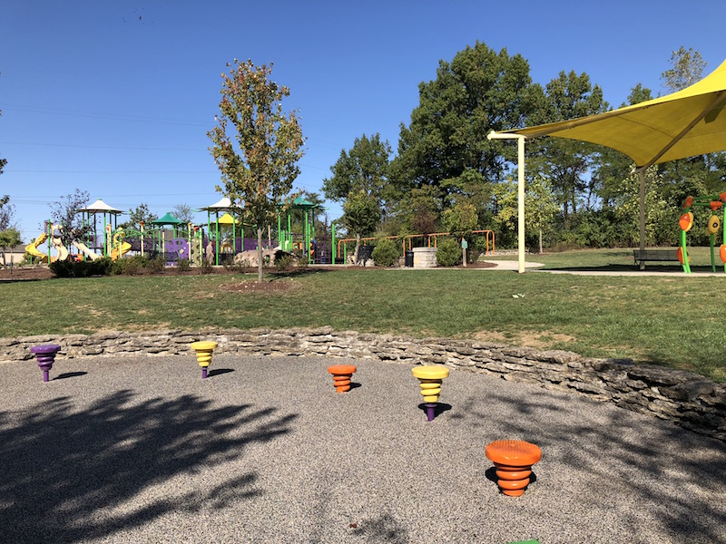 Emerald Fields playground in Dublin, Ohio