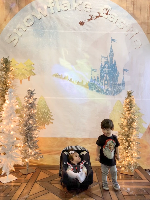 Kids at the Snowflake Castle in Westerville, Ohio