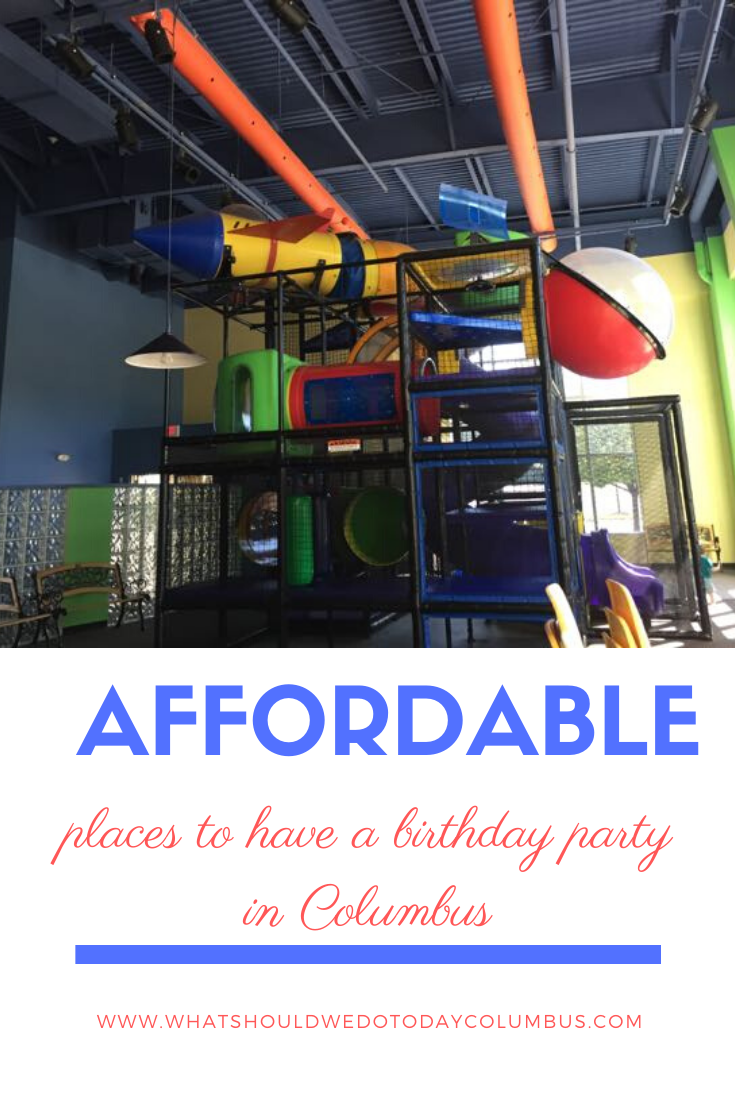 Affordable places to have a birthday party in Columbus, Ohio