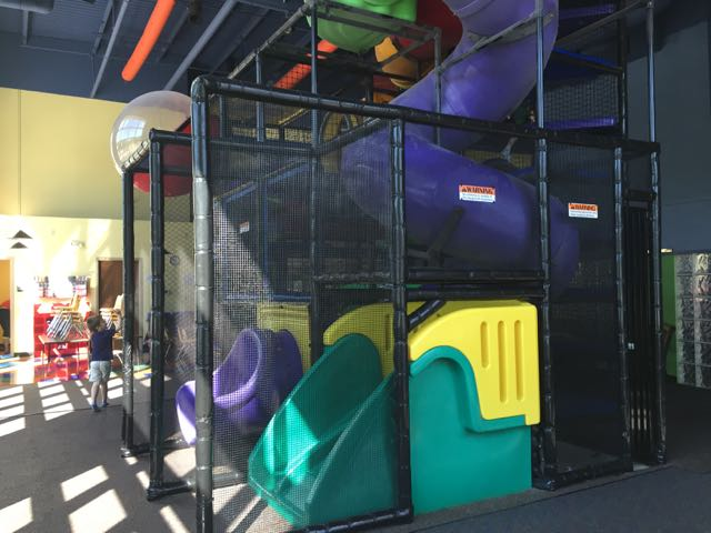 birthday party space at Central Park Play Place in Westerville, Ohio
