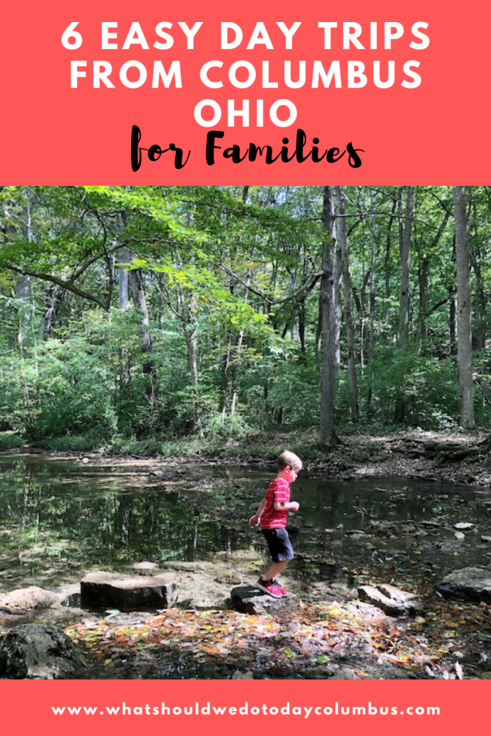 6 Easy Day Trips from Columbus, Ohio for Families