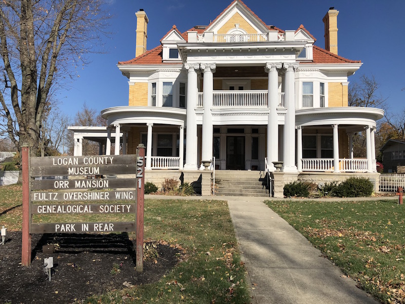 Logan County Museum in Bellefontaine, Ohio