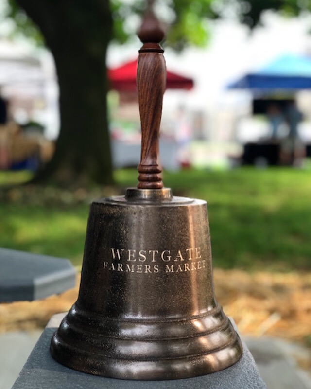 bell at Westgate Farmer's Market