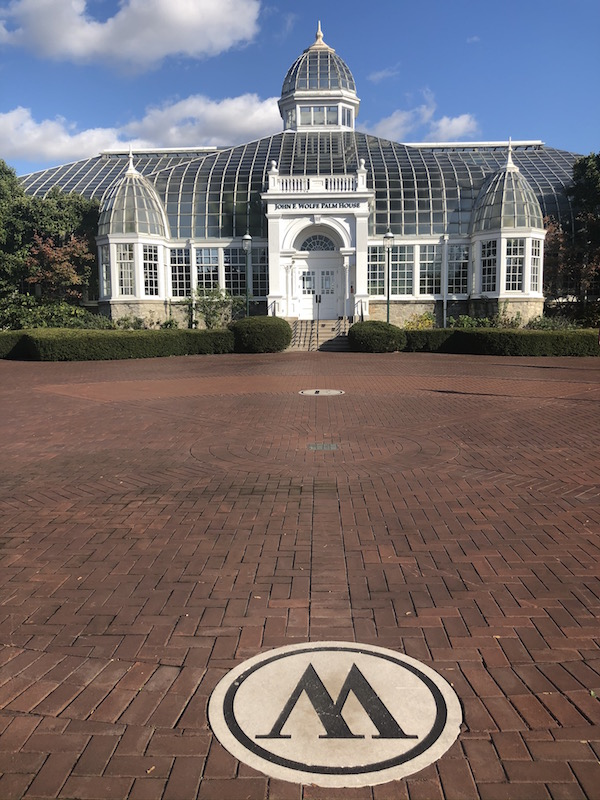 The Palm House at Franklin Park Conservatory