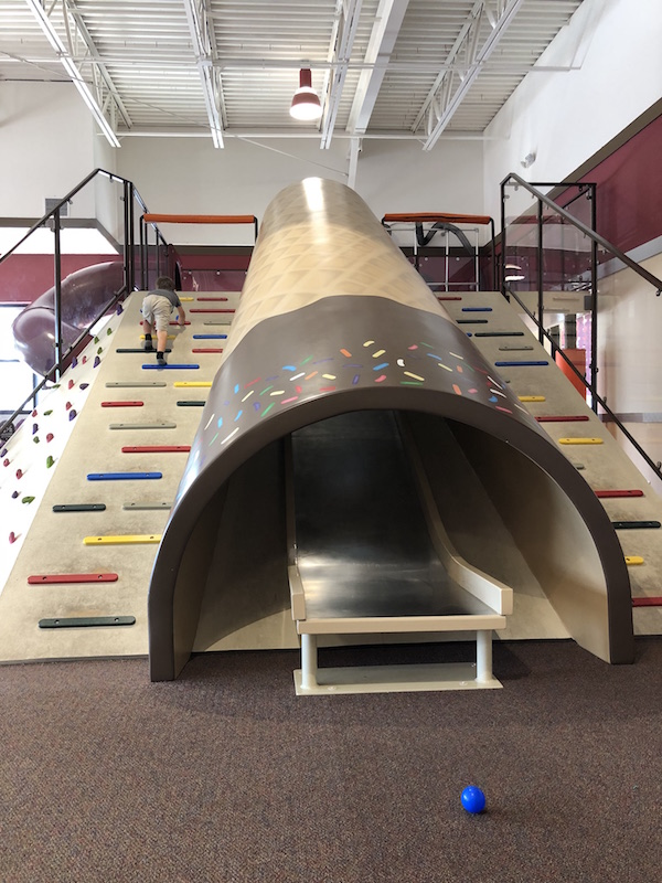 Indoor play area at Graeter's Ice Cream