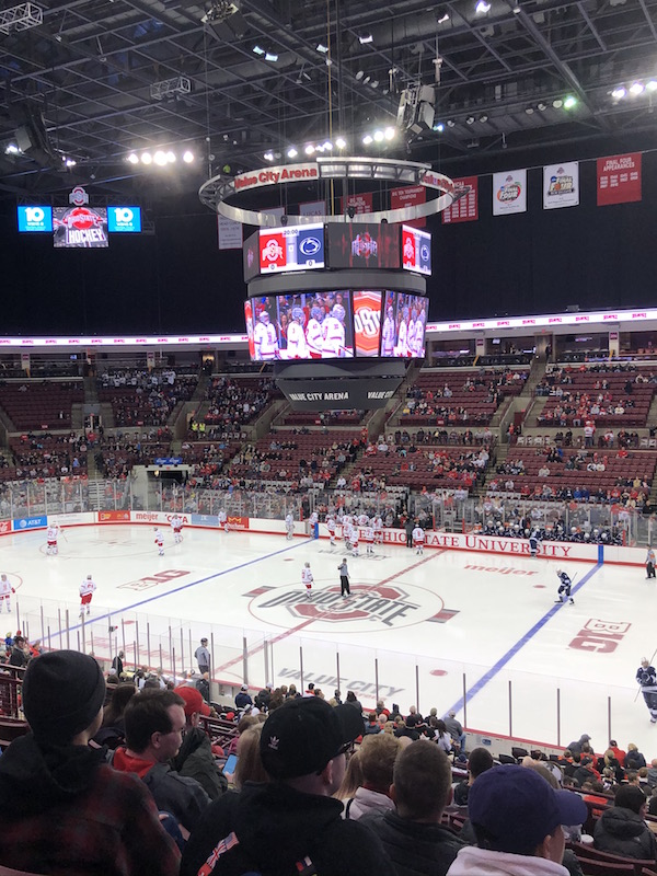Ohio State University Hockey Game