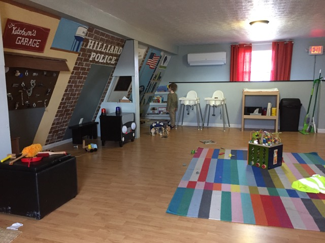 Indoor Play Area at Coffee Connections of Hilliard