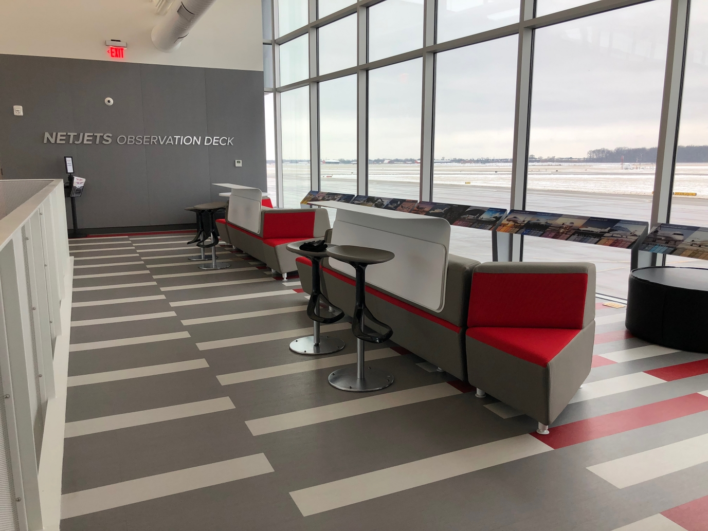observation deck at OSU Airport