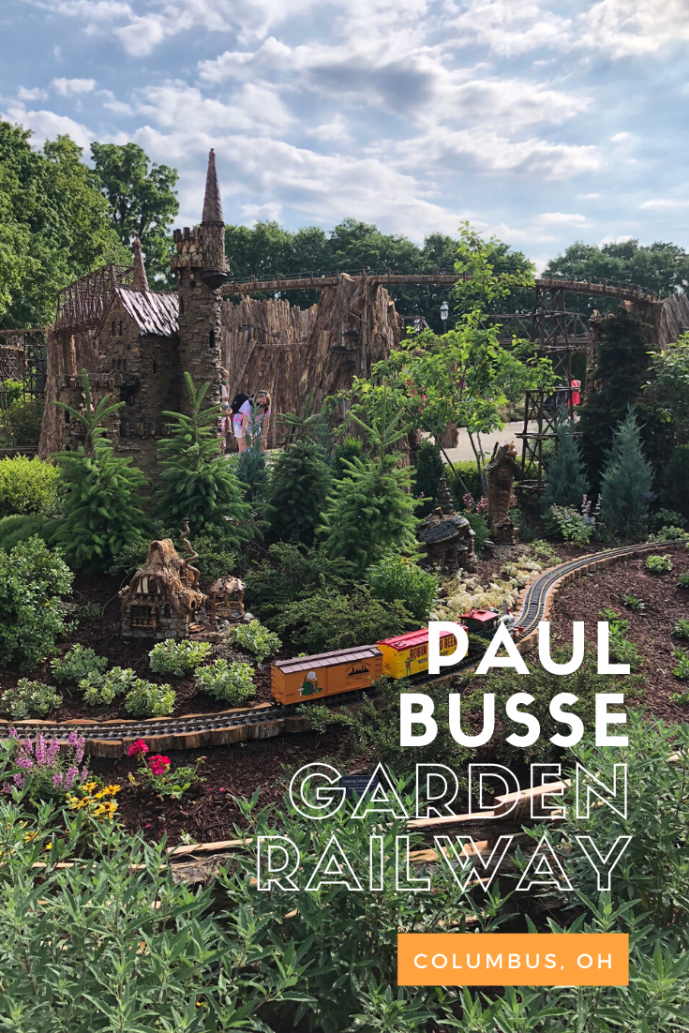 Paul Busse Garden Railway at Franklin Park Conservatory
