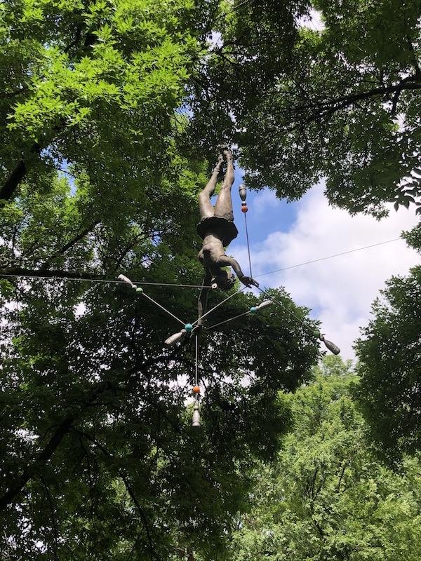 Balance Statues in Schiller Park