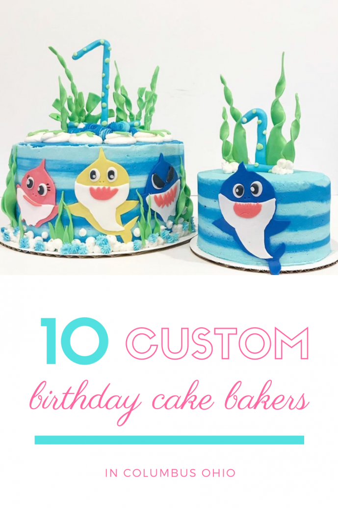 10 Custom Birthday Cake Bakers in Columbus, Ohio