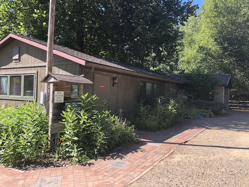 The Visitor Center at Ohio Bird Sanctuary, Mansfield, Ohio