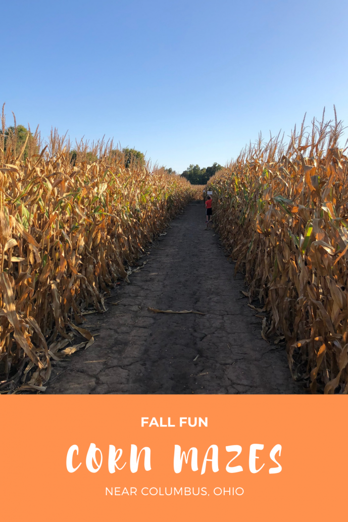 Corn Mazes in Central Ohio
