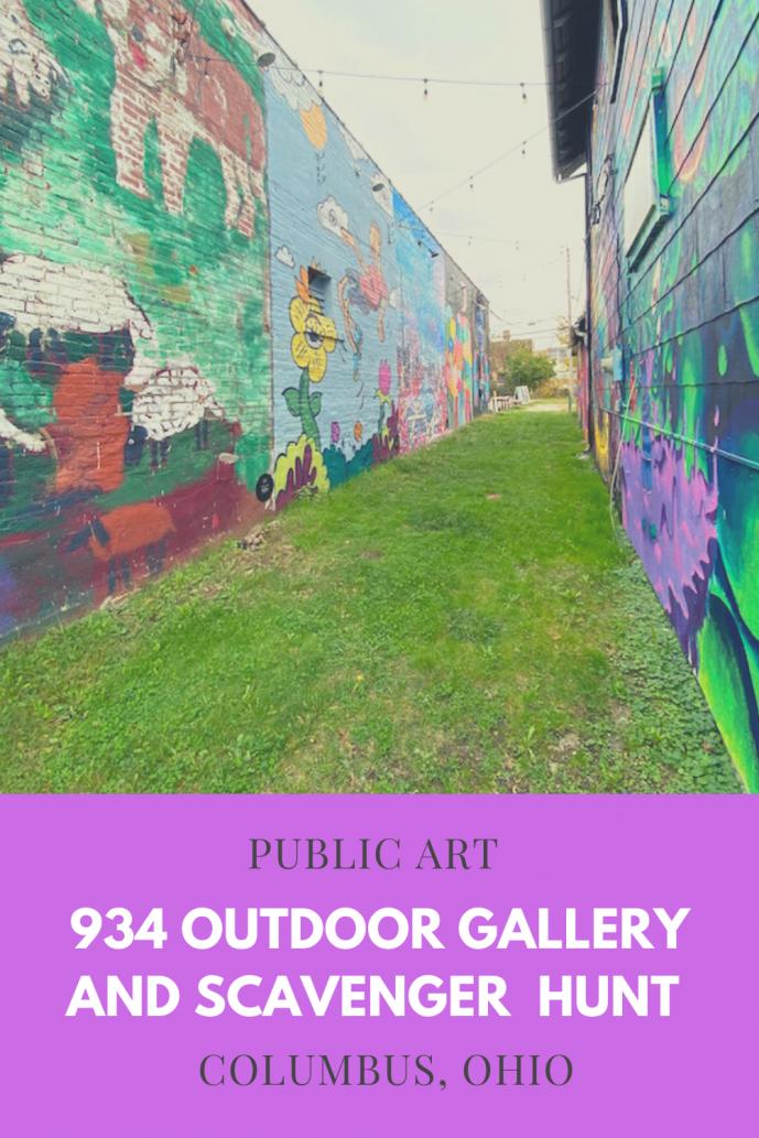 934 Outdoor Mural Gallery