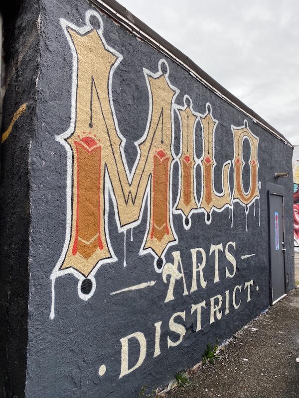 Milo Arts District Mural