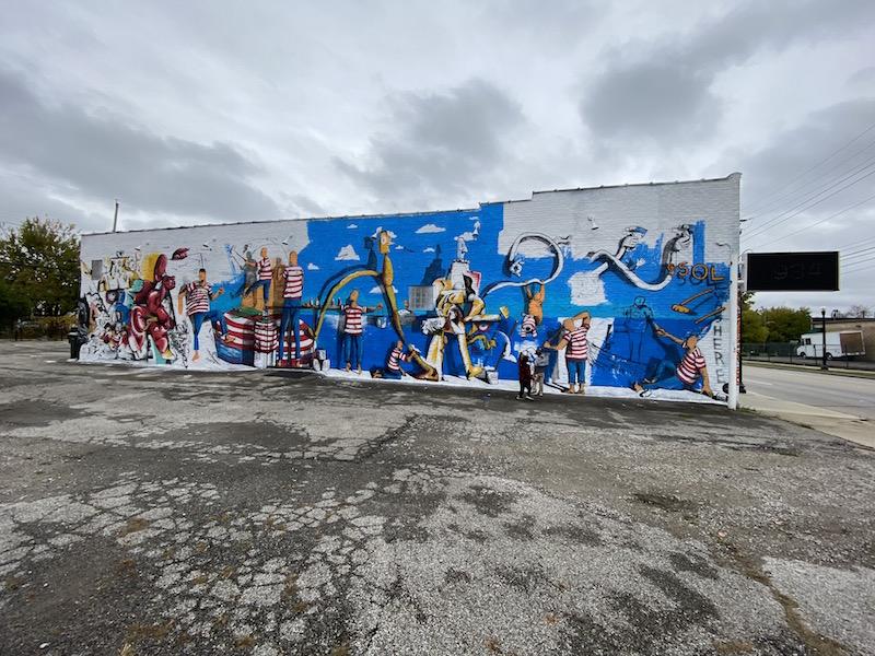 Mural Ensemble by Daniel Rona