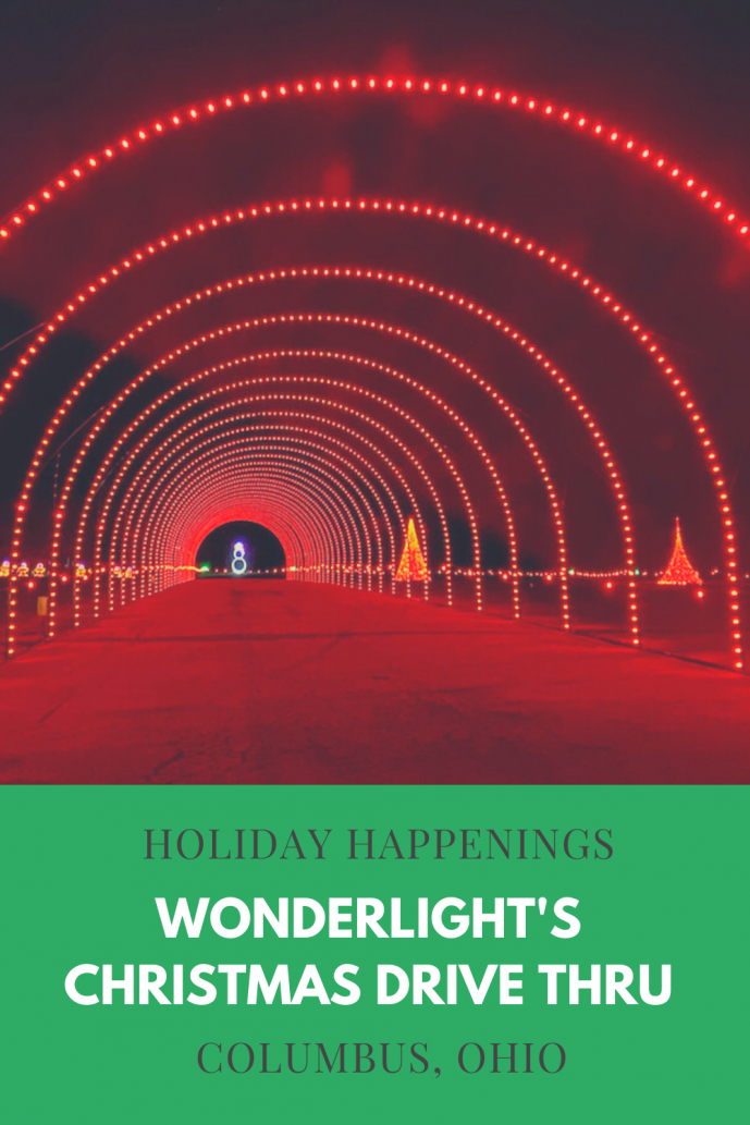 WonderLight's Christmas is a drive through holiday lights display!