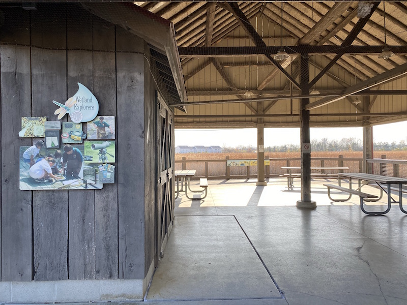 Honda Wetland Education Center at Glacier Ridge Metro Park