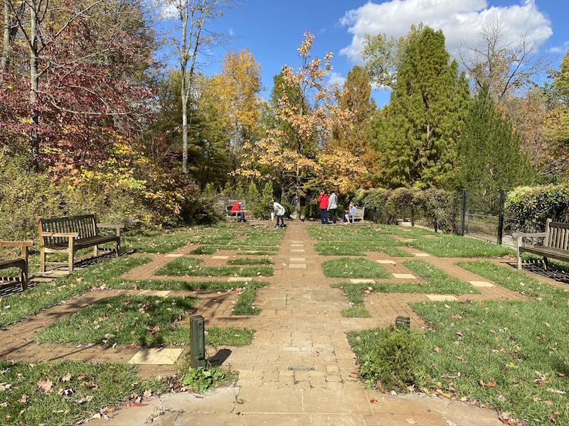 The Story Maze at Inniswood Metro Gardens