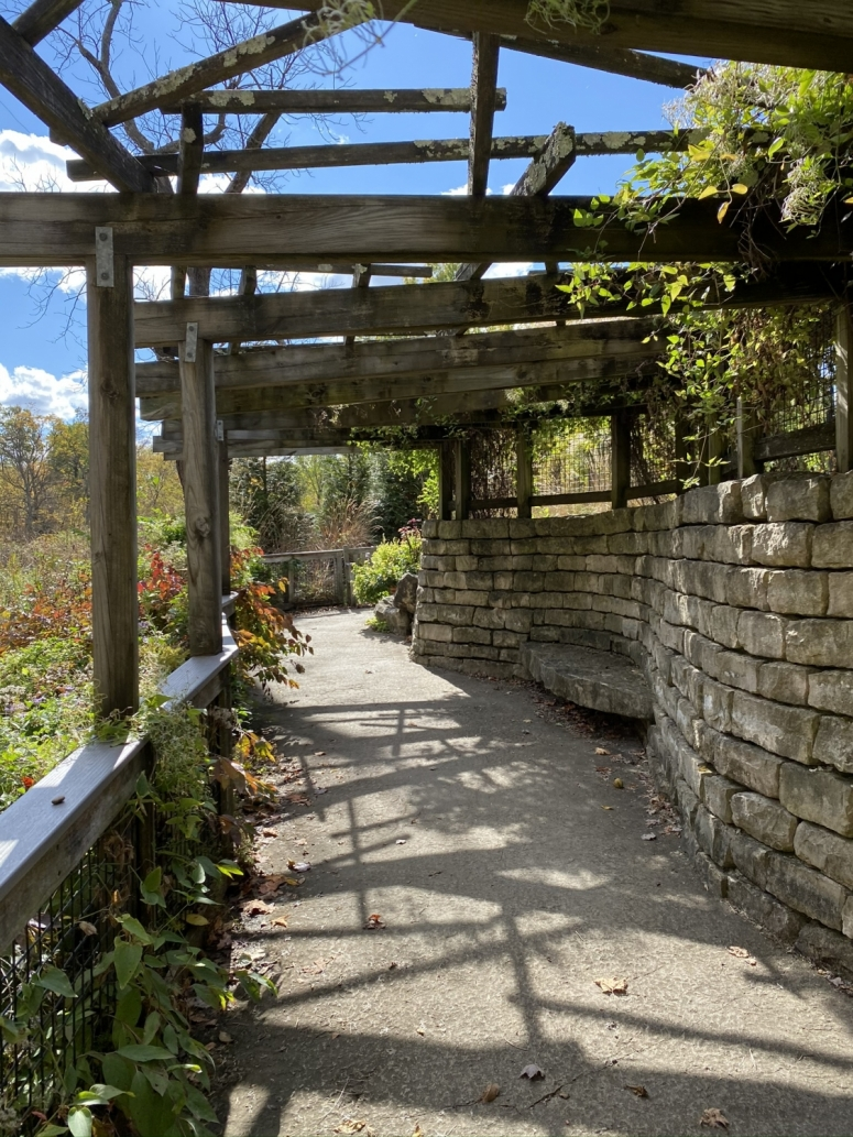 The Trellis Cave at Inniswood Metro Gardens