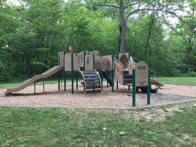 Playground at the Cedar Ridge Area of the park.