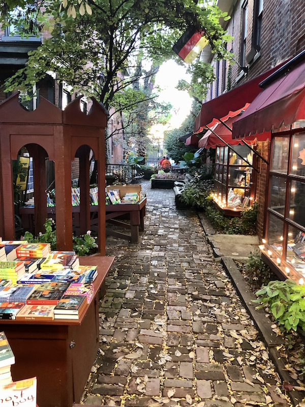 The Book Loft bookstore in German Village in Columbus, Ohio