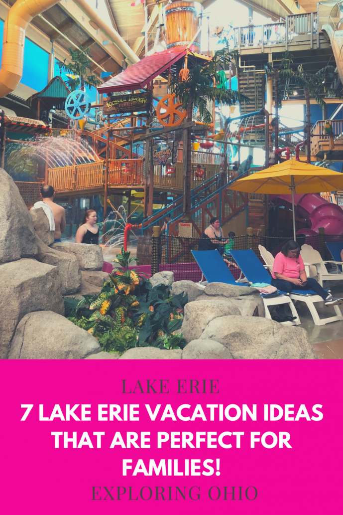 Lake Erie Vacations for families in Ohio