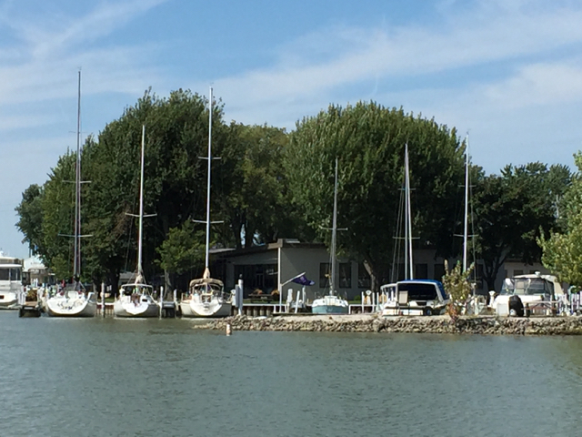 boats in Sandusky, Ohio
