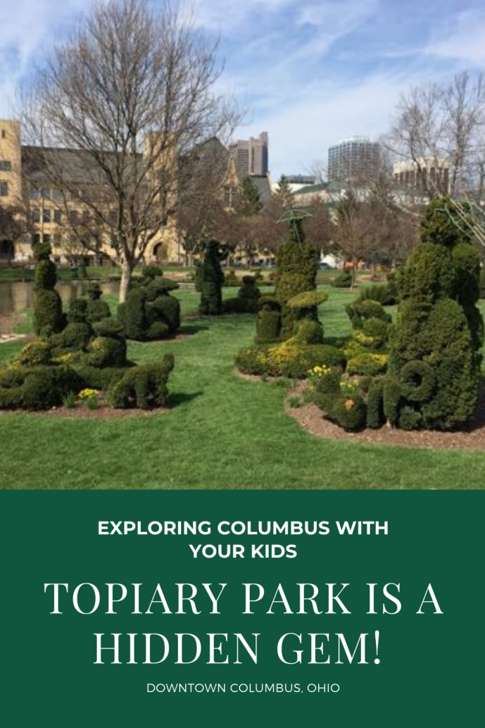 Topiary Park in Columbus Ohio is a hidden gem.