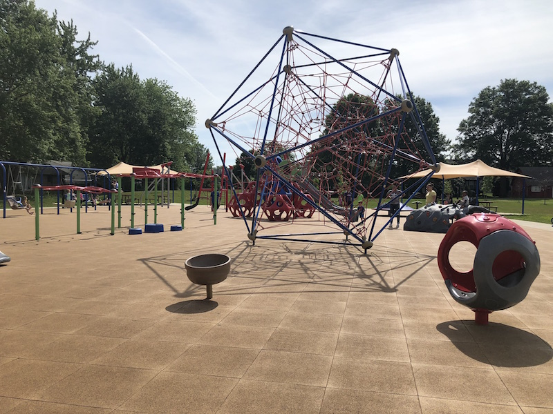 kaleidoscope playground at Sunpoint Park in Gahanna.