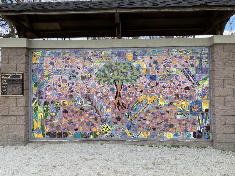 Pickerington Ponds Mural.