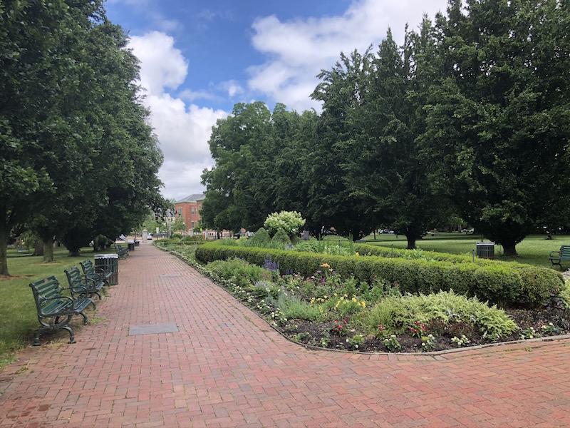 Huntington Gardens in Schiller Park, Columbus, Ohio.