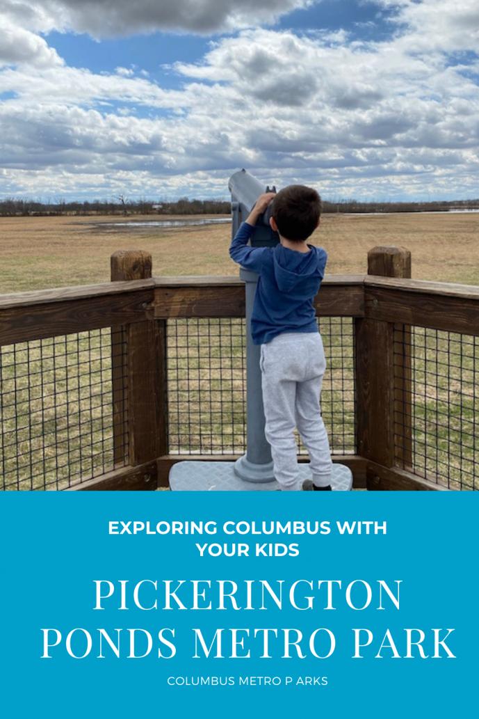 Pickerington Ponds Metro Park.