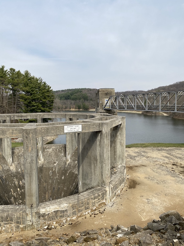 Pleasant Hill Dam in Mohican State Park.