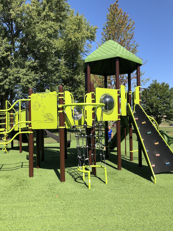 climbing structure for older kids at Noah's Playground.