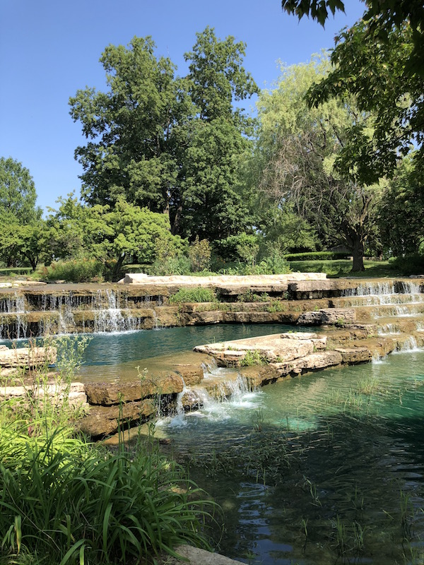 The Cascades in Franklin Park.