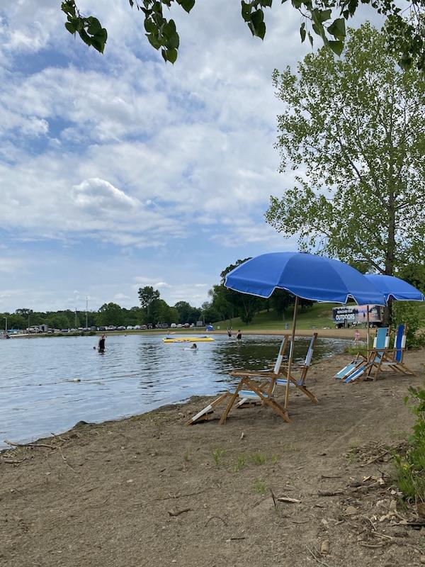The Whoa Zone at Pleasant Hill Lake Park.