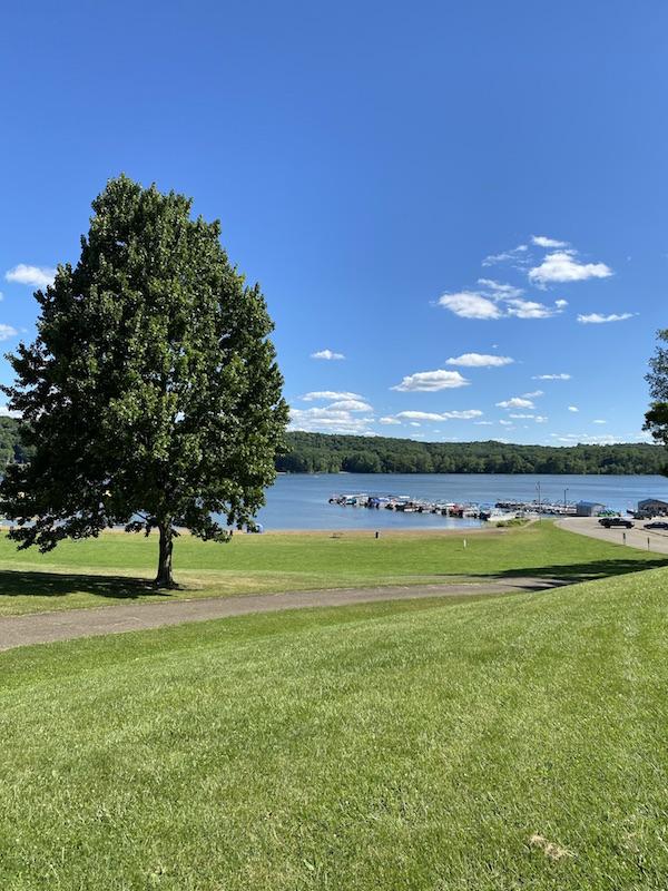 Pleasant Hill Lake Marina.
