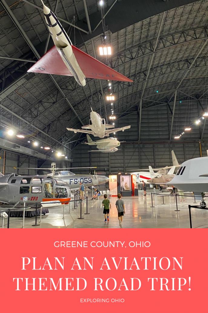 Plan an aviation-themed road trip to Greene County, Ohio.