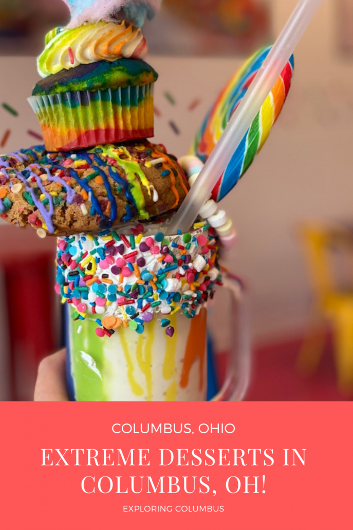 Extreme Milkshakes and mega-sized ice cream sandwiches are just a few of the over-the-top desserts taking Columbus by storm! This list will take you on a tour of some of the best places for dessert in Columbus, Ohio!